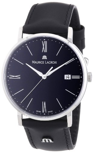 maurice lacroix eliros el1087 ss001 310 zeitlose herrenuhr. Black Bedroom Furniture Sets. Home Design Ideas