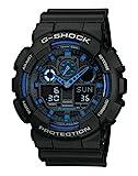Casio G-Shock Herren Harz Uhrenarmband GA-100-1A2ER