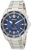 Seiko Kinetic Herren-Uhr Edelstahl mit Metallband SKA783P1