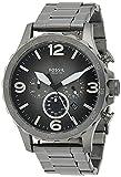 Fossil Herren Chronograph Quarz Uhr mit Edelstahl Armband JR1437