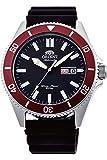 Orient Herren Analog Automatik Uhr mit Silikon Armband RA-AA0011B19B