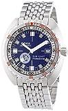 DOXA SUB 1200T Blue NUMA-Herren Automatik Uhr mit Blau Zifferblatt Analog-Anzeige und Silber Edelstahl Armband 872.10.201.10