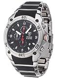 DETOMASO Herren-Armbanduhr SIENA Chronograph Analog Quarz MTM8806C-BK1