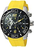 INVICTA Herren analog Quarz Uhr mit Silikon Armband 22808