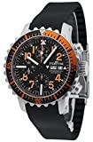 Fortis B-42 Marinemaster Day/Date Automatic Chronograph Steel Orange Mens Watch 671.19.49 K