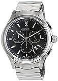 Ebel Herren Chronograph Quarz Uhr mit Edelstahl Armband 1216342