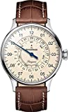 MeisterSinger Uhren Herrenuhr Einzeigeruhr mit Zusatzfunktion Pangaea Day Date PDD903