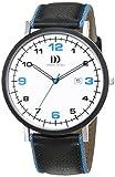 Danish Design Herren-Armbanduhr Analog Quarz Leder 3314478