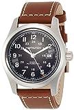 Hamilton Herren Analog Automatik Uhr mit Leder Armband H70555533