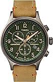 Timex Herren Chronograph Quarz Uhr mit Leder Armband TW4B04400