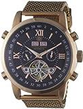 Constantin Durmont Herren-Armbanduhr XL Calendar Analog Automatik Edelstahl CD-CALE-AT-RGM2-RGRG-BK