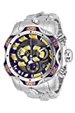 INVICTA Herren Analog Quarz Uhr mit Edelstahl Armband 32040