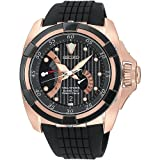 Seiko SRH006P1–Armbanduhr Herren, Armband aus Edelstahl Farbe Schwarz