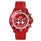 ICE-WATCH - ICE dune Forever red - Men's wristwatch with silicon strap - Chrono - 014219 (Large)