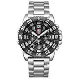 Luminox Herren Chronograph Quarz Uhr mit Edelstahl Armband XS.3182.L