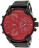 Diesel Herren Analog Quarz Uhr mit Edelstahl Armband DZ7395
