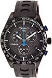 Tissot Herren-Armbanduhr 42mm Armband Kautschuk Schwarz Quarz T1004173720100
