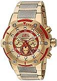 INVICTA Herren analog Quarz Uhr mit Edelstahl Armband 25781