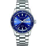Hamilton Herren Analog Quarz Uhr mit Edelstahl Armband H37551141