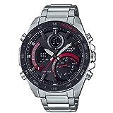 Casio Herren Quarz Uhr mit Edelstahl Armband ECB-900DB-1AER