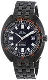 Doxa Herren Analog Automatik Uhr mit Paqué or Armband 880.30.101N.11