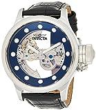 Invicta Herren analog Automatik Uhr mit Leder Armband 24593