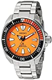 Seiko Taucher-Armbanduhr Prospex Samurai, automatisch, orange, Zifferblatt, Edelstahl – Modell: SRPC07.