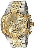 INVICTA Herren analog Quarz Uhr mit Edelstahl Armband 25864
