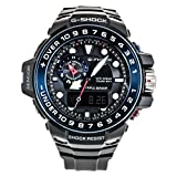 Casio Herren Digital Quarz Uhr mit Resin Armband GWN-1000B-1BER