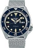 Seiko 5 Suits Herren-Uhr Edelstahl mit Metallband SRPD71K1