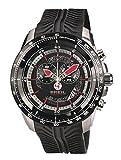 Breil Herren Analog Quarz Uhr mit Silikon Armband TW1488