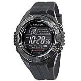 Sector No Limits Jungen Digital Analog Quartz Uhr mit Rubber Armband R3251372215