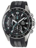 Casio Edifice Herren Massives Edelstahlgehäuse und Resinarmband Uhrenarmband EFV-550P-1AVUEF