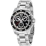 Longines Herren-Armbanduhr 41mm Armband Edelstahl + Gehäuse Quarz L37434566