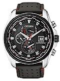 CITIZEN Herren Analog Eco-Drive Uhr mit Edelstahl Armband AT9036-08E
