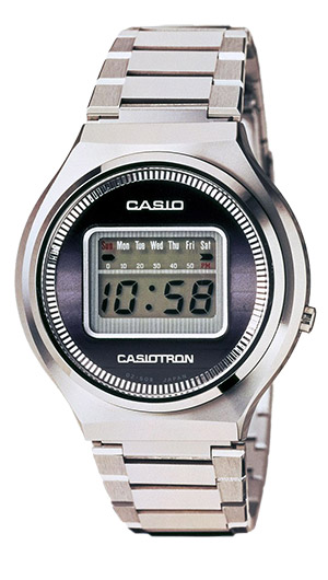 CASIOTRON 1974 - © Casio