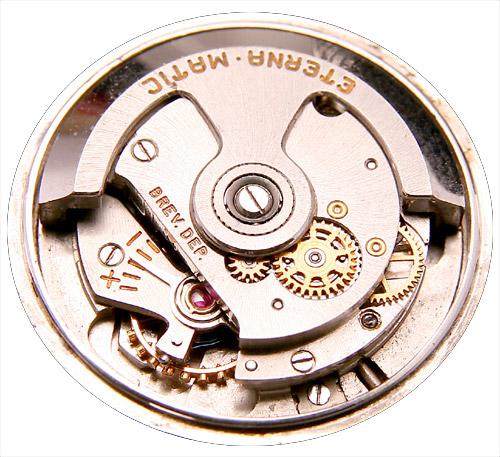 Eterna Matic Kaliber 1198 mit Kugellager-Rotor