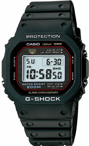 Orginal G-Shock DW-5000C - © Casio