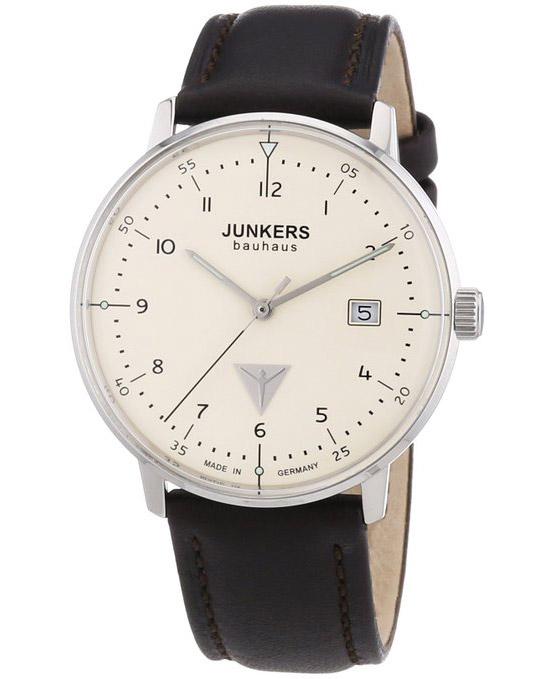 Elegante Junkers Bauhaus Herrenuhr