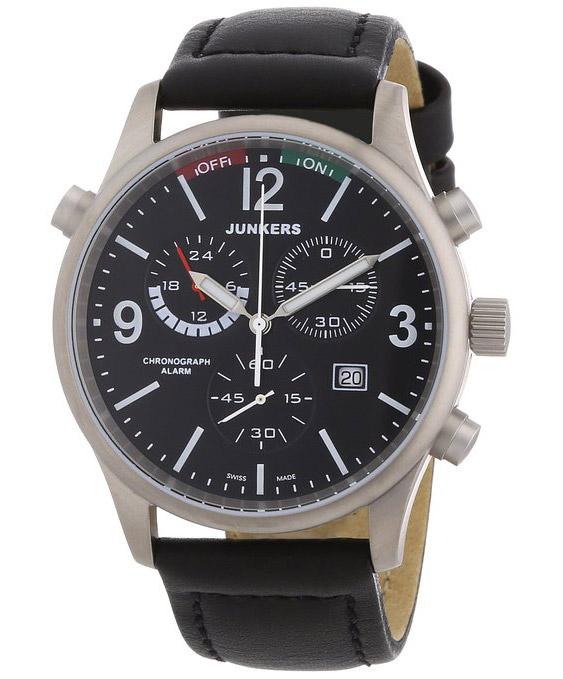 Junkers Herren Chronograph Flugweltrekorde G38