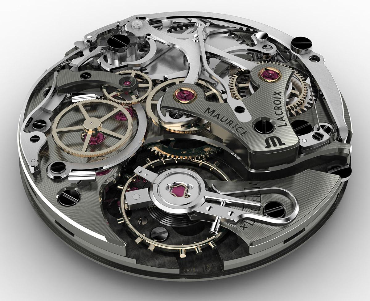 Maurice Lacroix Chronographen-Uhrwerk ML106-2