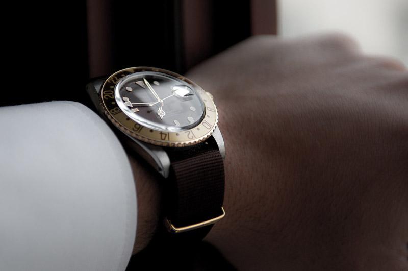 Rolex GMT-Master Herrenuhr 16753