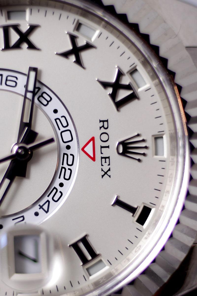 Rolex Sky-Dweller Zifferblatt