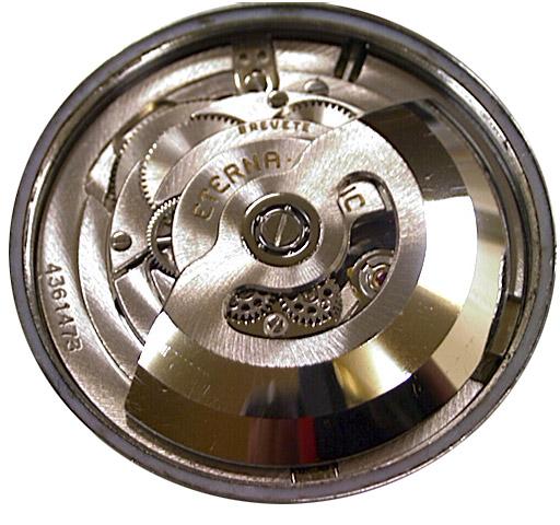 ETA Eterna-Matic Uhrwerk mit Automatik und Kugellager