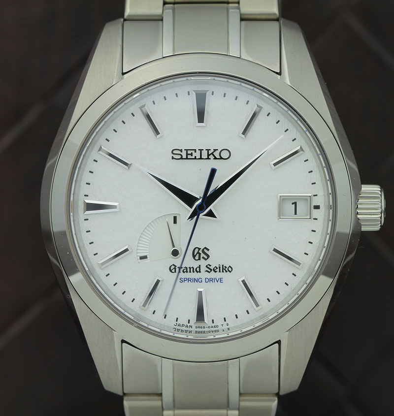 Grand Seiko mit Spring-Drive-System