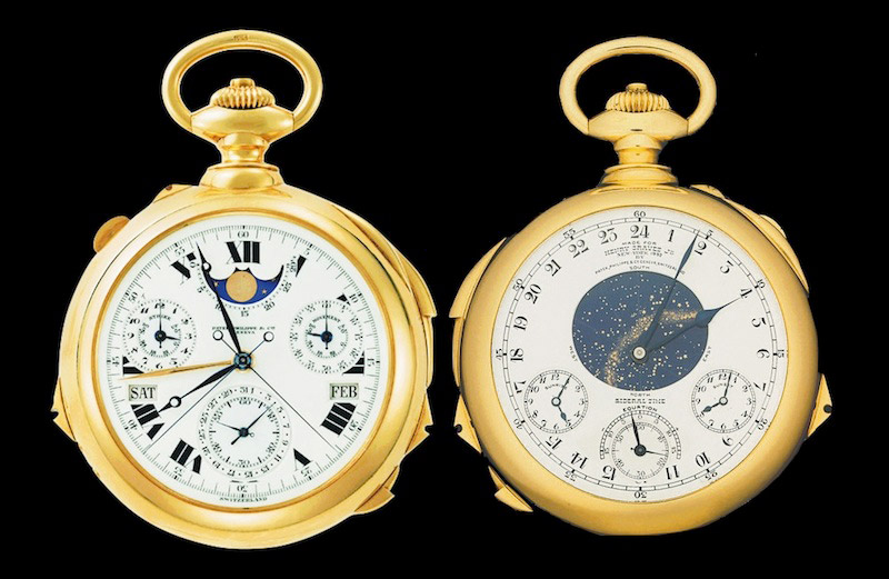 Patek Philippe Supercomplication von Henry Grave Jr. - Taschenuhr