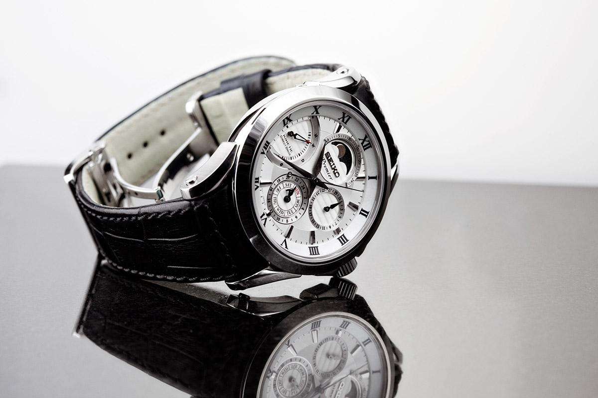 Seiko Premium SRX00391 mit Mondphasen-Anzeige