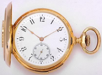 Tissot Taschenuhr mit Minuten-Repetition von 1909