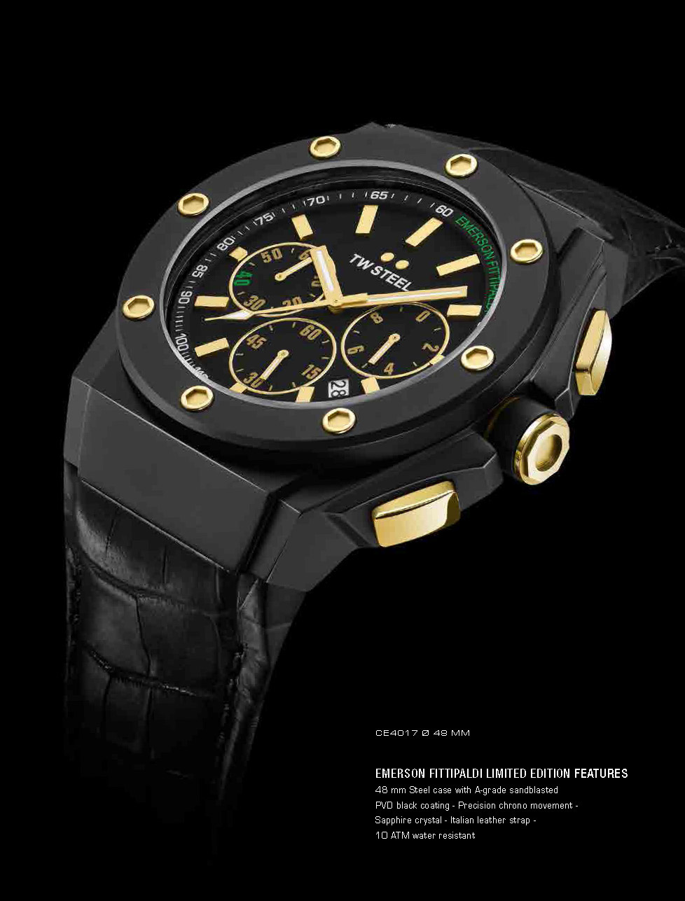 TW Steel Chronograph Emerson Fittipaldi