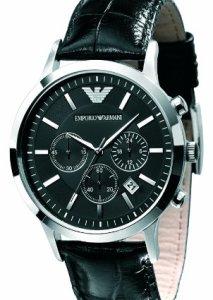 Zeitlose Armbanduhr Emporio Armani AR2447 mit Chronograph für Männer